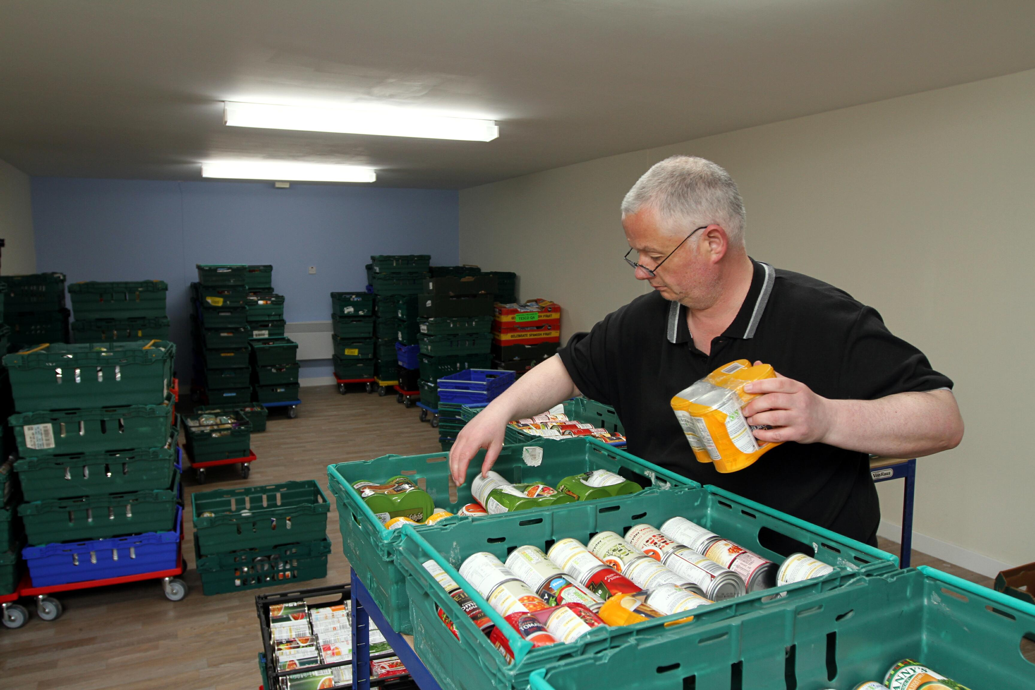 Donations are always welcome at Dundee Foodbank.