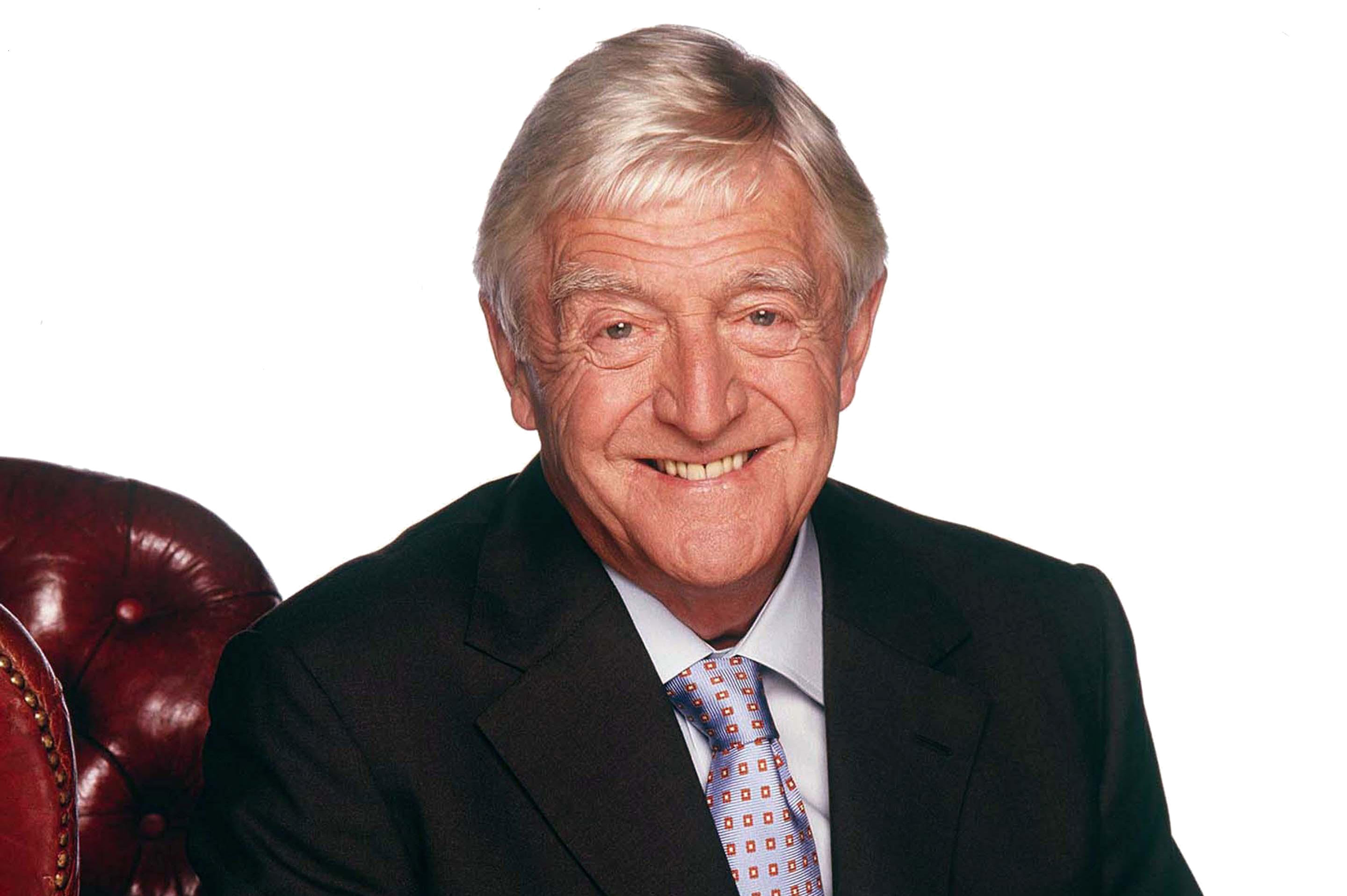 Sir Michael Parkinson is coming to Dundee this weekend.