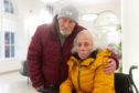 Jimmy and Margaraet Campbell were forced to stay in a homeless shelter after the ceiling collapsed in their own home