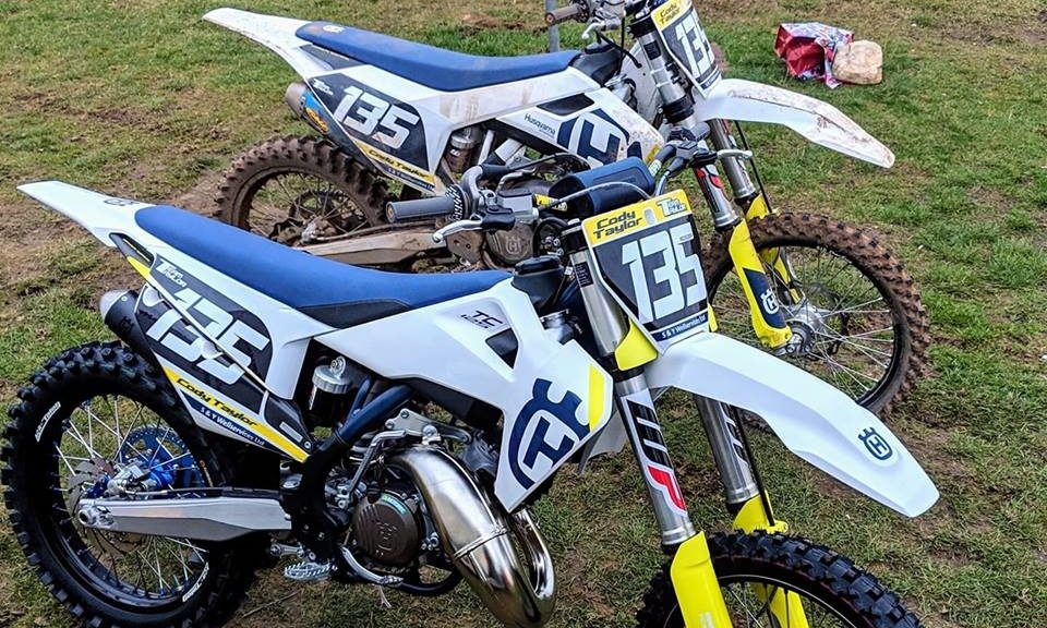 The motorbikes stolen from the locked-up garage in Arbroath