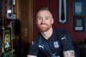 Dundee FC new boy Craig Curran pictured at Dens Park after his move from city rivals Dundee United