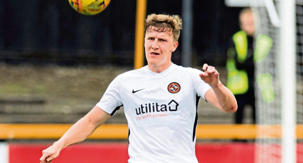 Dundee United centre-back Paul Watson