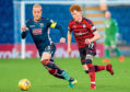 Andrew Davies spent three years as Ross County captain before leaving last summer and joining Hartlepool. Yesterday he left them by mutual consent