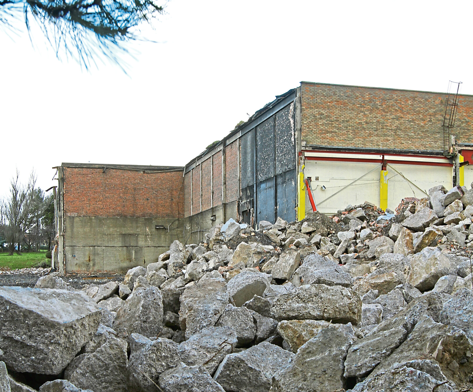 The bottling plant developers hope to turn into homes