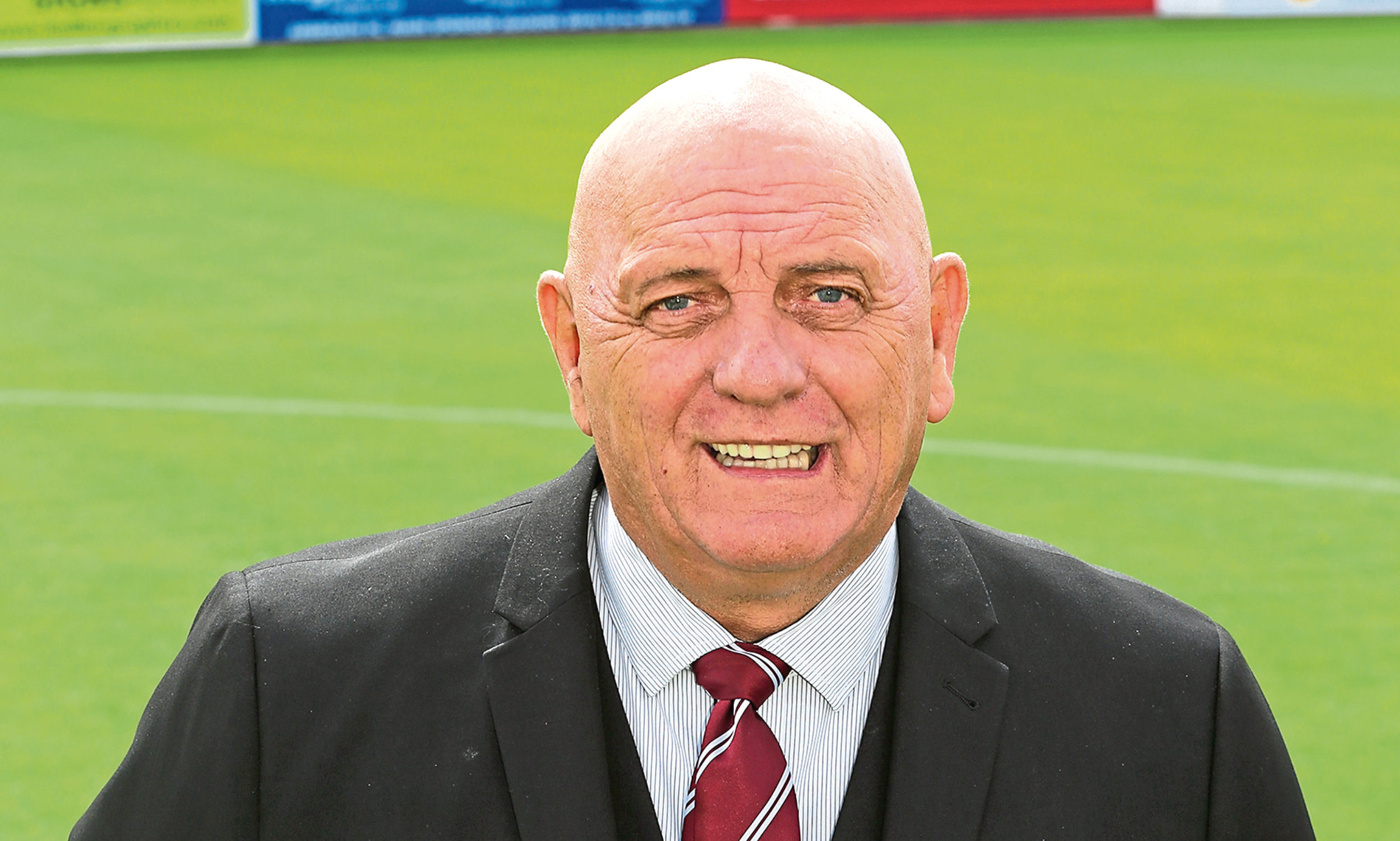 Arbroath manager Dick Campbell.
