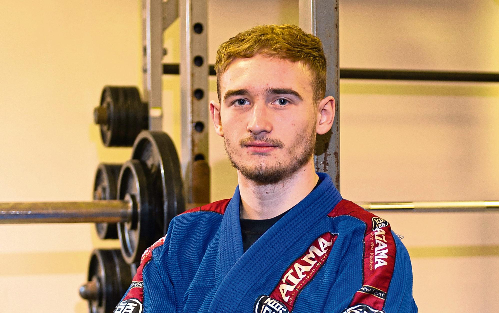 Brazilian jiu jitsu martial artist Patrick Rowan