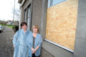 Pauline Barber, left, and Janet McDonald say the close has been blighted by problems