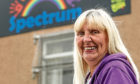 Support worker Beverley McKelvie outside the centre