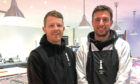 Operations manager Dan Bunce (left) and butchery director David Webster