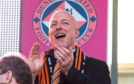 New Dundee United owner Mark Ogren was at Tannadice on Saturday to watch his side beat Dunfermline 1-0