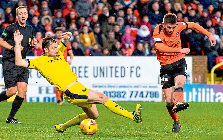 Dundee United's Sam Stanton