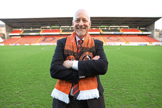 New Dundee United owner Mark Ogren was unveiled to the media today