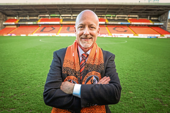 Dundee United owner Mark Ogren last night dedicated title to fans