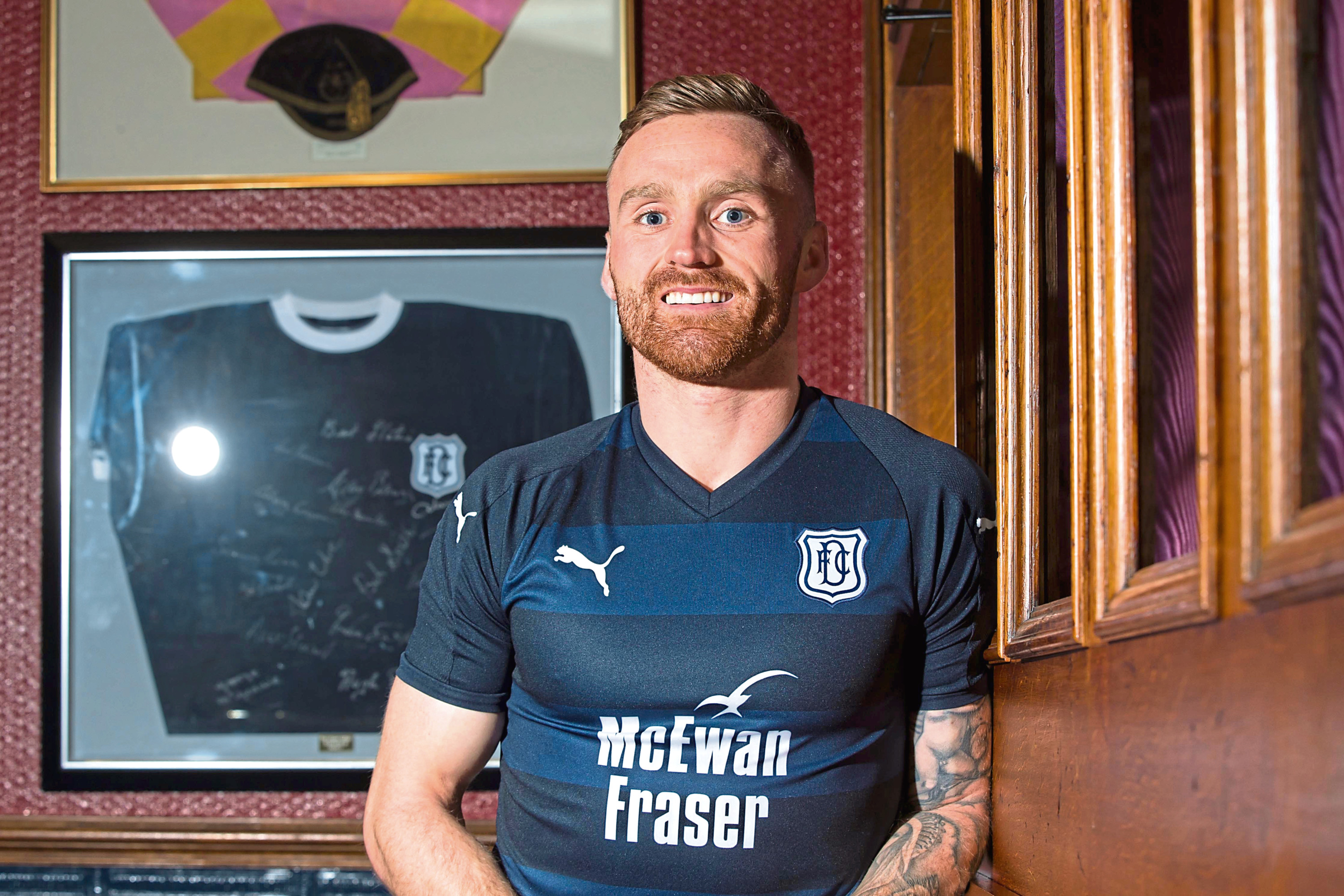 Dundee new boy Craig Curran