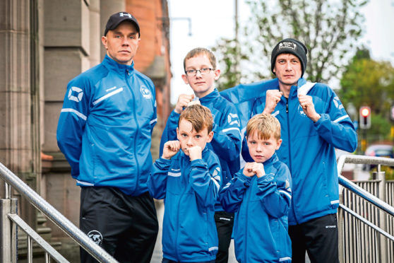 Sean Wanless and his fight squad are preparing for the world championships in Dublin at the end of the month