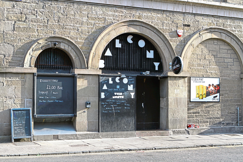 The Balcony Bar (stock image)