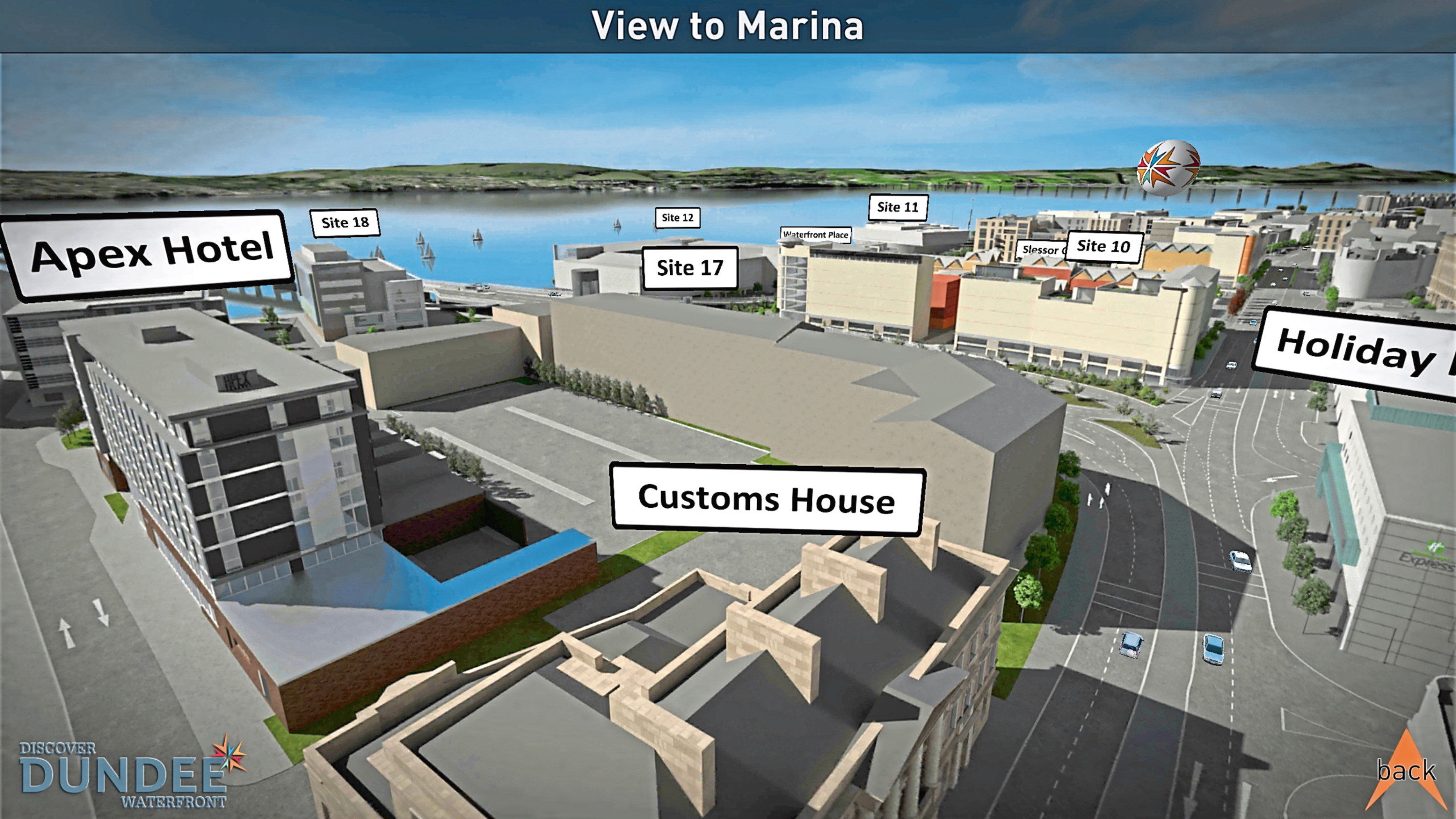Plans for the Waterfront site