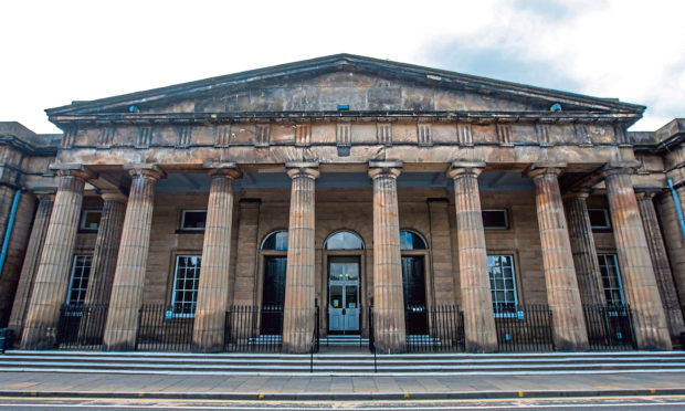 The accused is due to appear at Perth Sheriff Court today.