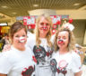 Caroline Rae, Susan McGregor and Gail Ramsay, were pictured at the TK Maxx pop-up stall in the Wellgate that sold Red Nose Day merchandise to raise funds for Comic Relief in 2017