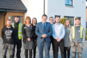 MSP Jamie Hepburn meets Springfield's up-and-coming workforce at its Dykes of Gray village development in Dundee