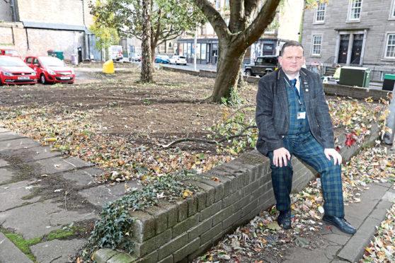 West End Community Council chairman Peter Menzies