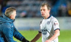 Paul McGowan trudges off at Palmerston after Dundee's 3-0 Scottish Cup defeat by Queen of the South. The midfielder says things will only get harder, starting Saturday at Hamilton Accies