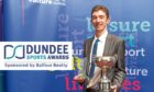 Billy Gibson collected the award last year as Dundee Hawkhill Harriers won the Club of the Year at Caird Hall last February