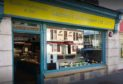 Gazeley's Delicatessen in Brook Street, Broughty Ferry (stock image)