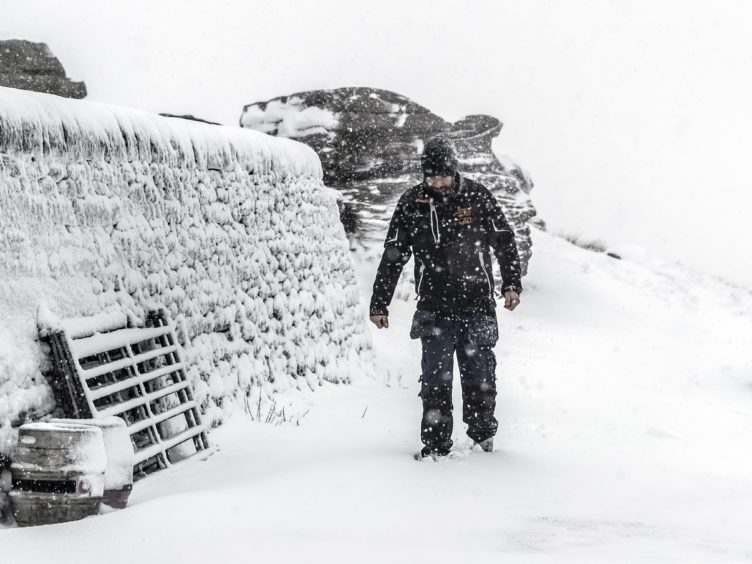 Heavy snow could fall across Britain as temperatures reach minus double figures, the Met Office said (Danny Lawson/PA)