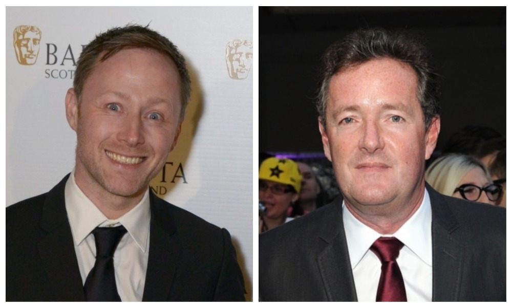 Limmy and Piers Morgan
