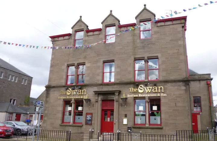 The Swan, Brechin (stock image)