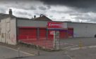 The empty Poundstretcher store on Lochee Road, close to the Dudhope roundabout