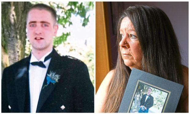 Wilma is still heartbroken over the loss of her son Gavin (left)