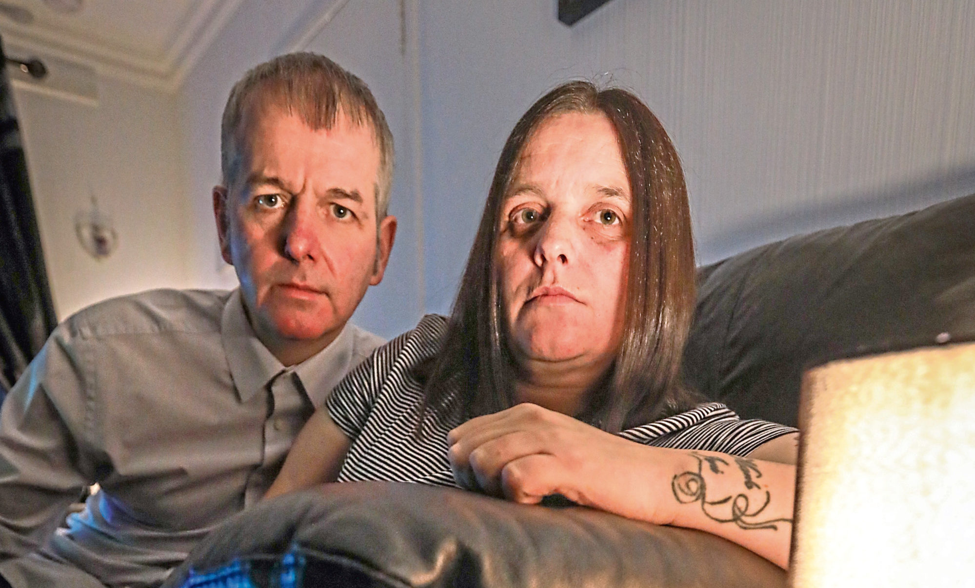 Amanda and Andrew say they have been left in the dark twice