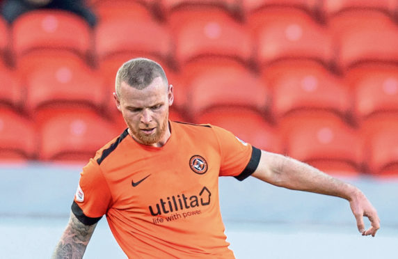 Dundee United new boy Mark Connolly