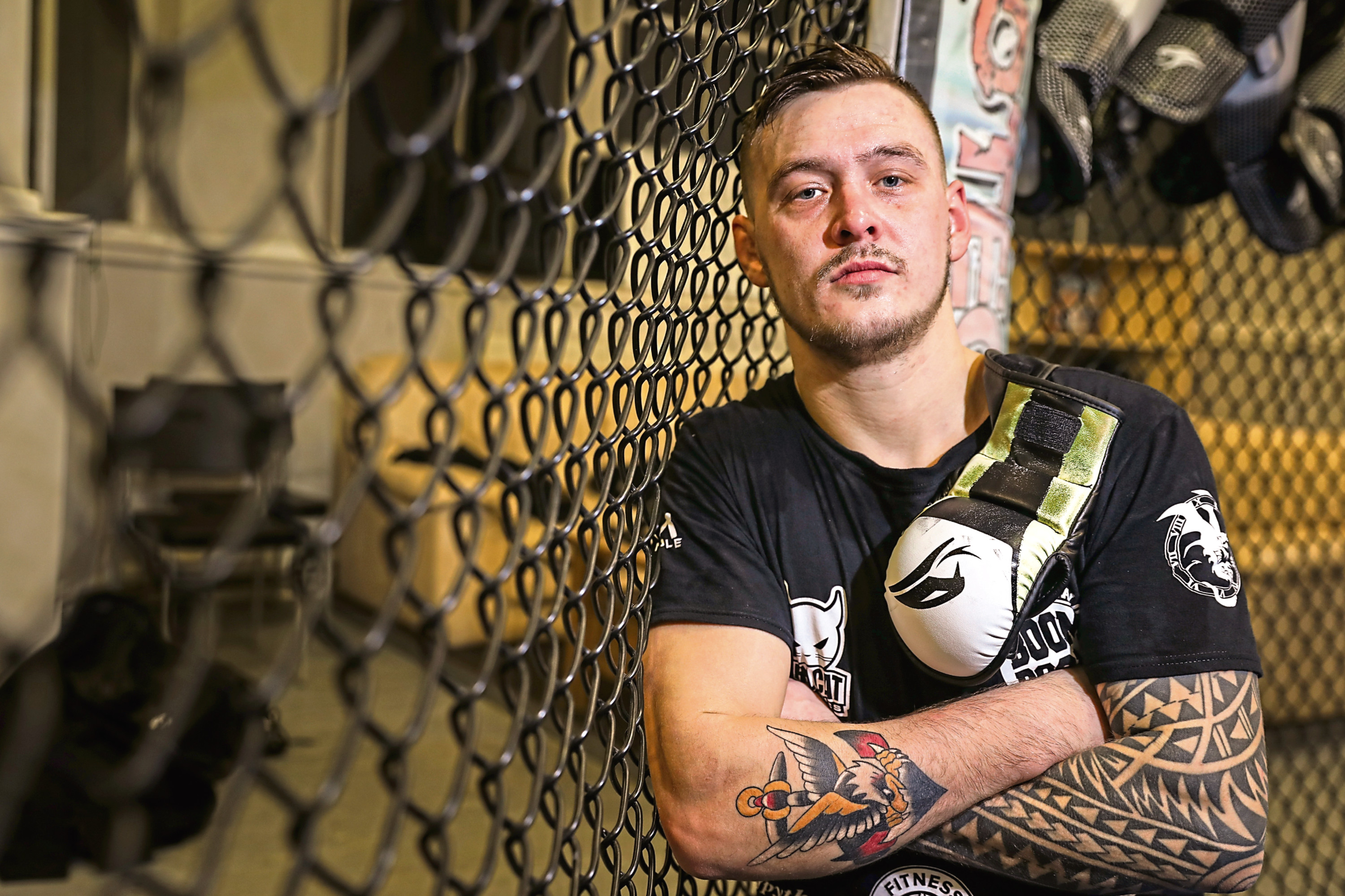 Dundee MMA fighter Scott Malone
