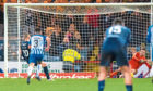 Kenny Miller saw his last-minute penalty saved by Daniel Bachmann