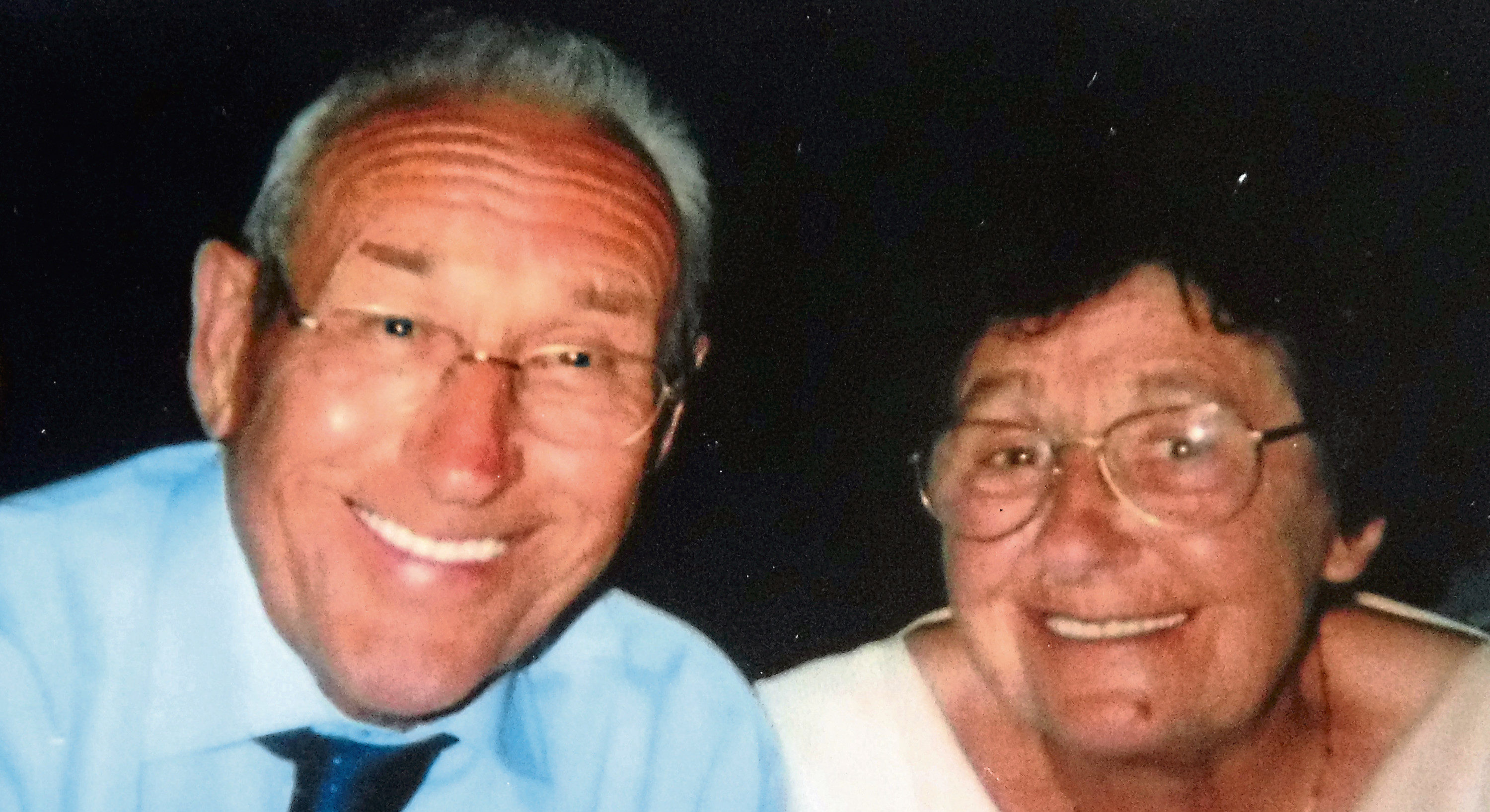 Ernie Point and Edith Strachan died within four days of each other