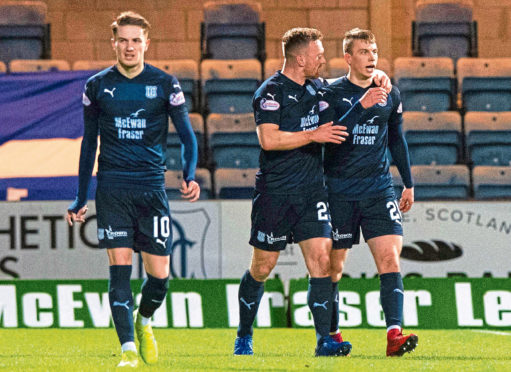 Scott Wright, Craig Curran and Andrew Nelson have added threat to the Dundee frontline after joining in January