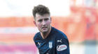 Dundee's Ethan Robson in action