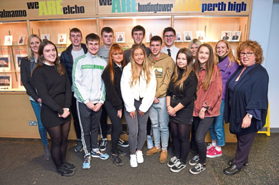 Perth High School pupils and staff who are visiting South Africa