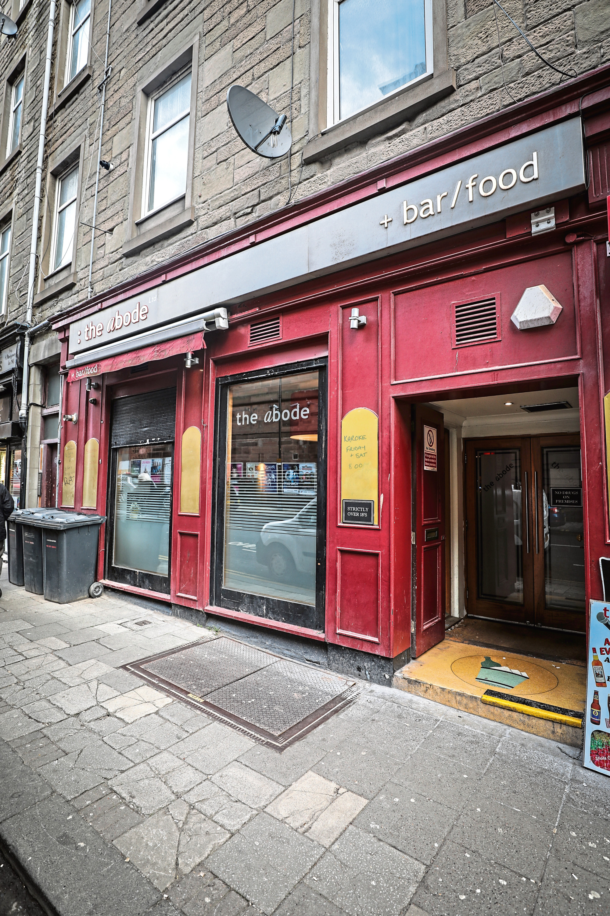Abode Bar In St Andrew's Street, Dundee