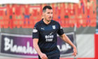 Dundee's Ryan McGowan makes his debut against Hamilton