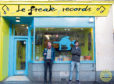 Jack Lefeuvre (left) and brother Tom outside Le Freak Records