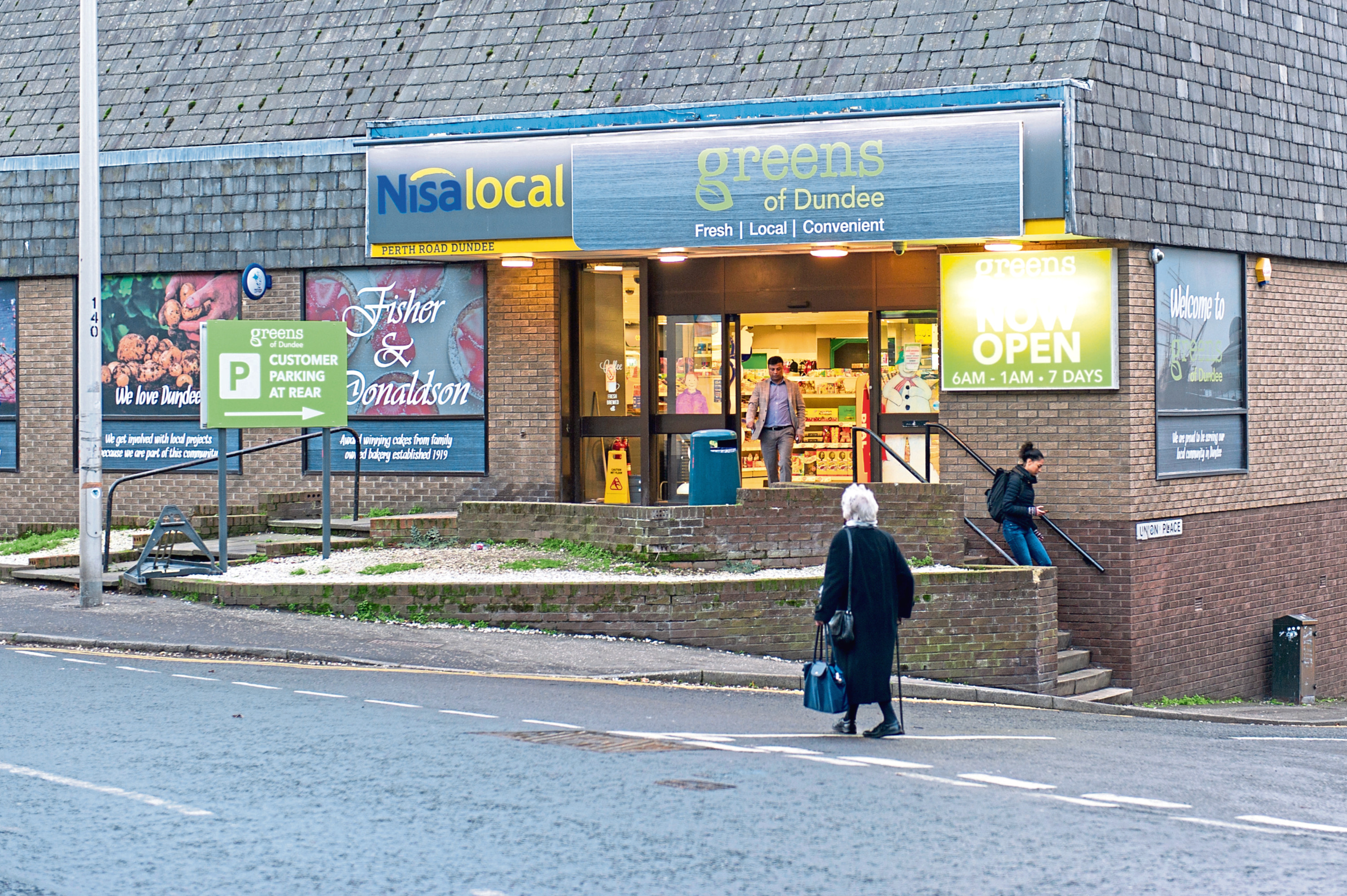 The Greens of Dundee store, run in conjunction with Nisa Local