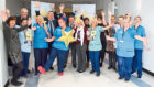 NHS Tayside staff getting in the mood as they launch the awards