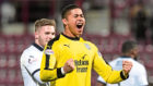 Dundee goalkeeper Seny Dieng has made a strong start to life at Debs Park