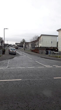 The junction of Balunie Avenue and Balerno Place