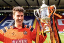 Craig Brewster with the Scottish Cup in 1994.