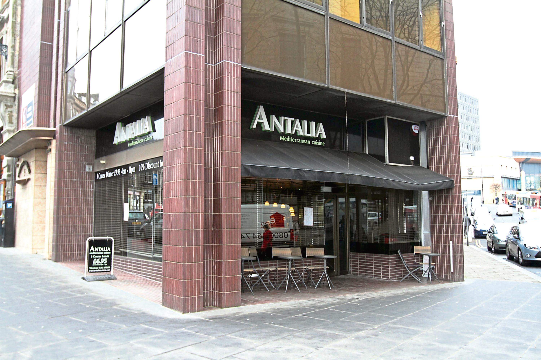 Antalia on Whitehall Crescent, Dundee.
